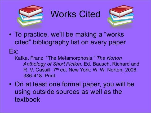 mla format essays anthology