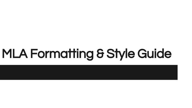 mla formatting and style guide Citing your sources mla style search this guide search citing your sources: mla citation guides online mla formatting and style guide - the owl at purdue mla guide creating a citation in mla 8th edition style.