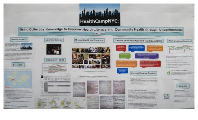 HealthCampNYC: Using Collective Knowledge to Improve Health Literacy and Community Health Through Unconferences