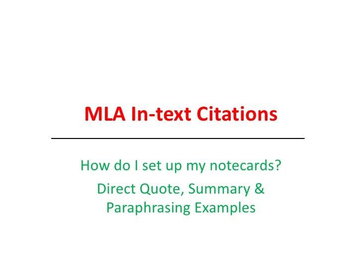 Mla citation newspaper in text