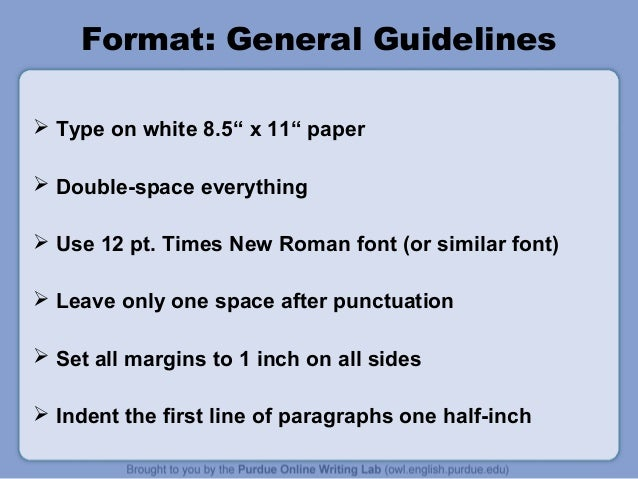 What is MLA Format? Etc.?