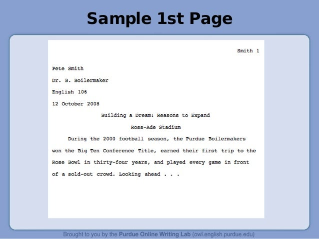 mla format for powerpoint presentation to cite a powerpoint presentation in your text you