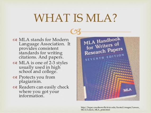 What to write my research paper on mla ppt