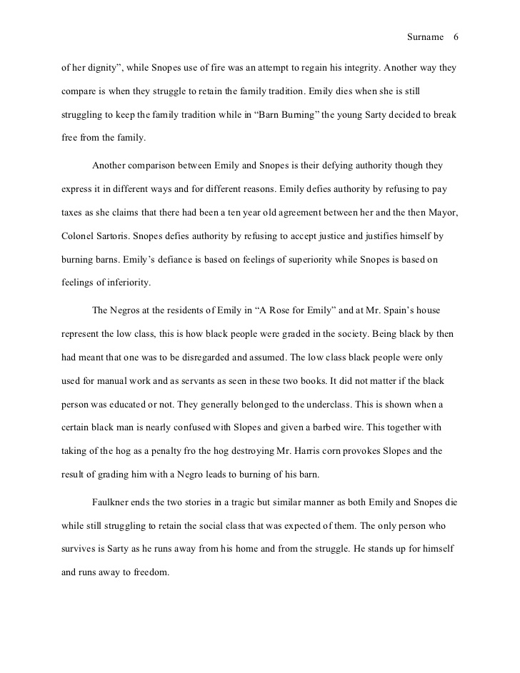 Essay family tradition