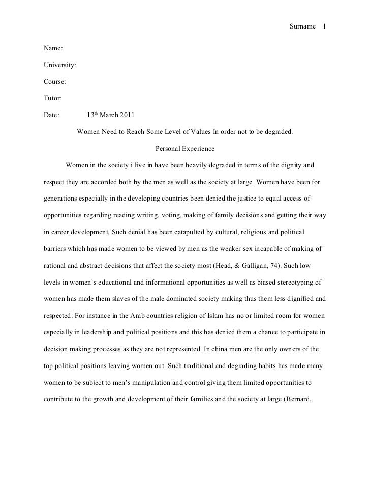 mla format for research essay