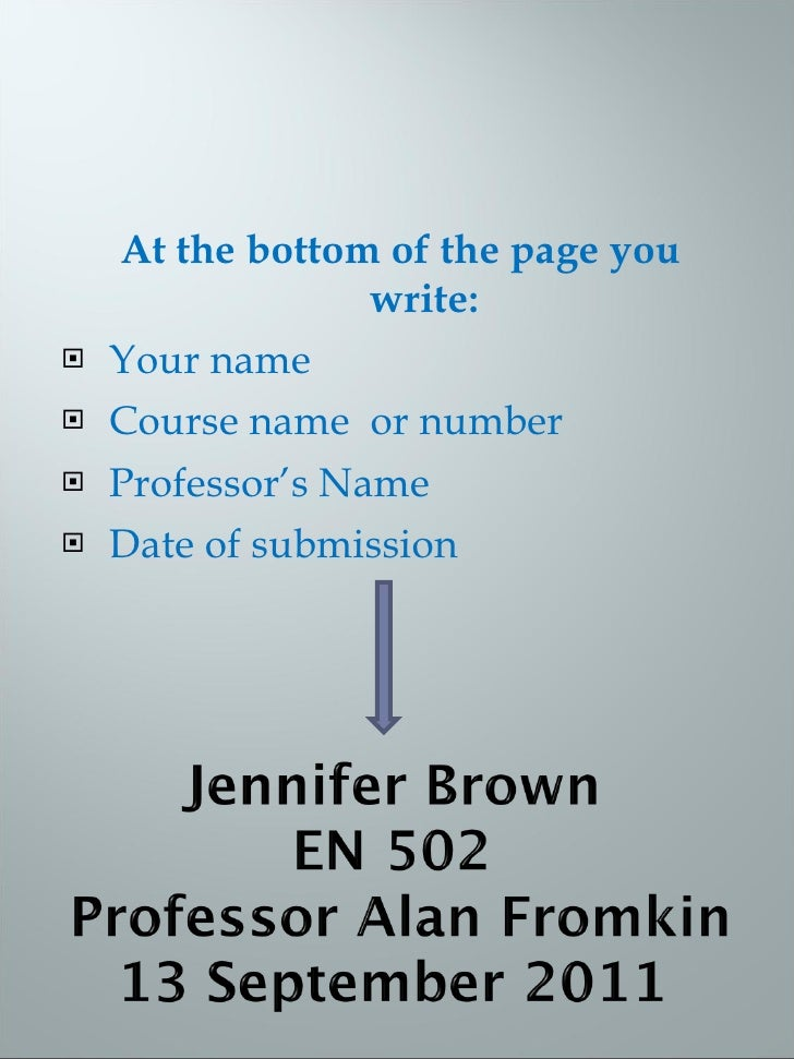 how to create an mla title page