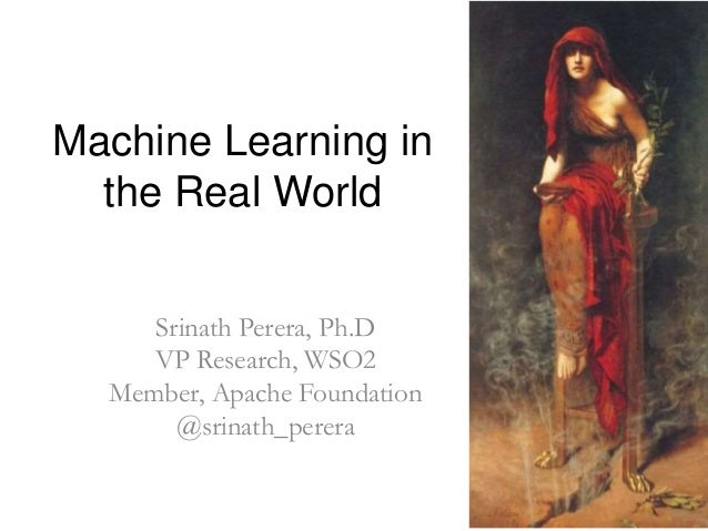 machine learning exles in real