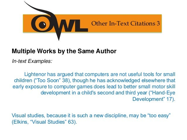 how do you cite an article with multiple authors