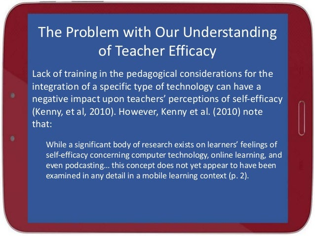 Dissertation on teacher efficacy