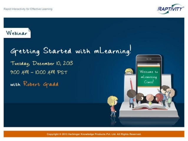 Webinar - Getting Started with mLearning