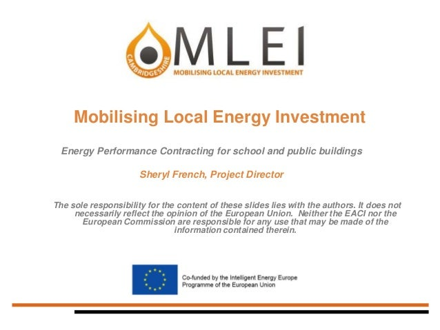 Cambridgeshire County Council: Mobilising Local Energy Investment