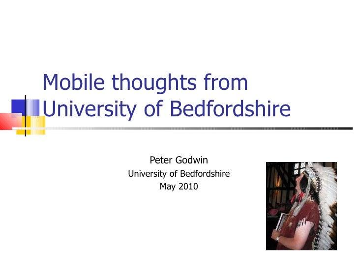 M libraries2 beds uni mlibraries seminar May 2010
