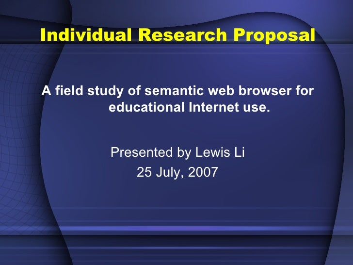 research proposal samples in education Sample research proposals – sample research proposals from the faculty of nursing, social work, sociology, educational psychology, foreign language education.