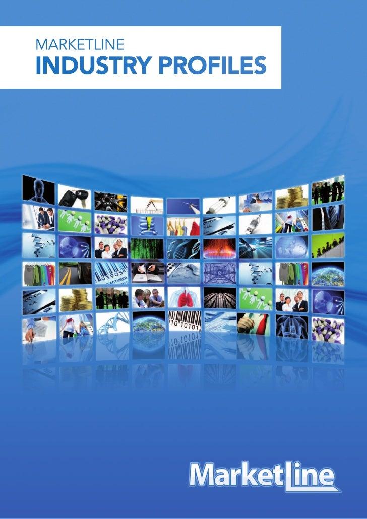 MarketLine Industry Profiles Brochure