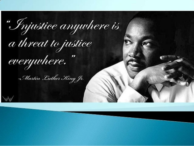 Reverend Martin Luther King and The Civil Rights Movement