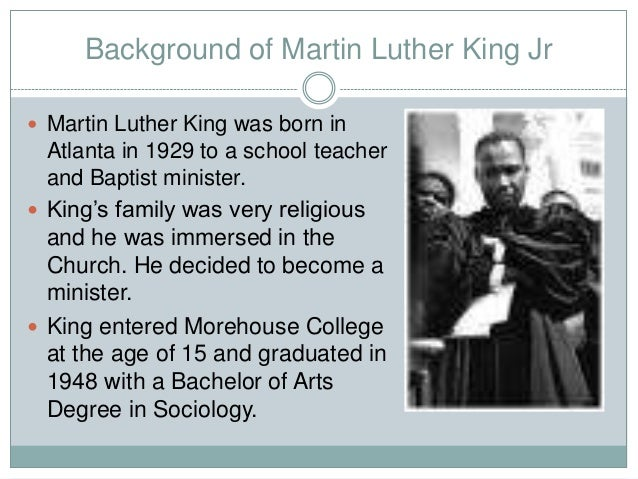 sociological analysis of martin luther king