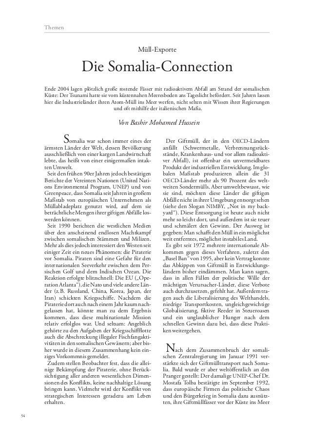 Somalia war schon immer eines der ärmsten Länder der Welt, dessen Bevölkerung ausschließlich von einer kargen Landwirtscha...
