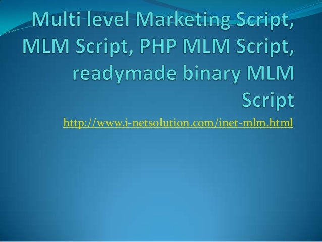 Binary options php script