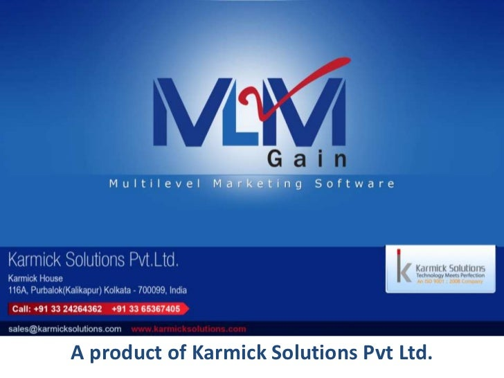 A product of Karmick Solutions Pvt Ltd.