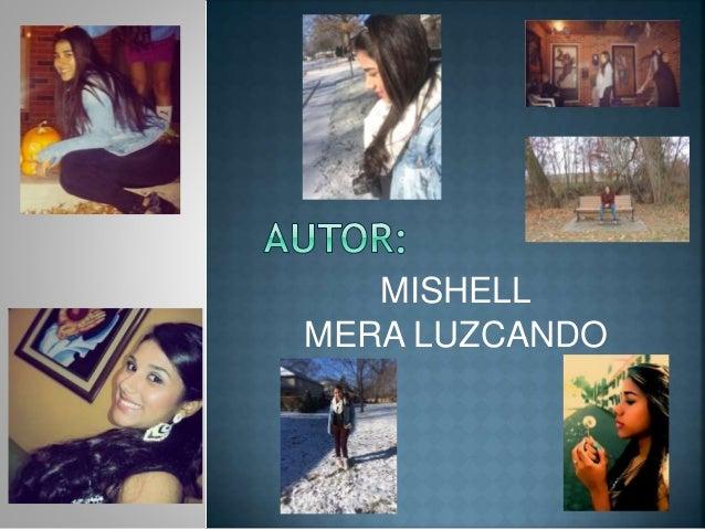 MISHELL MERA LUZCANDO