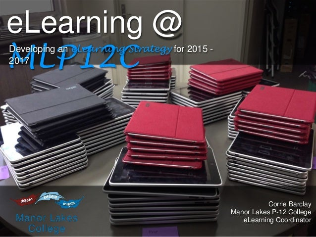 MLP12C eLearning Strategy Evening 2014