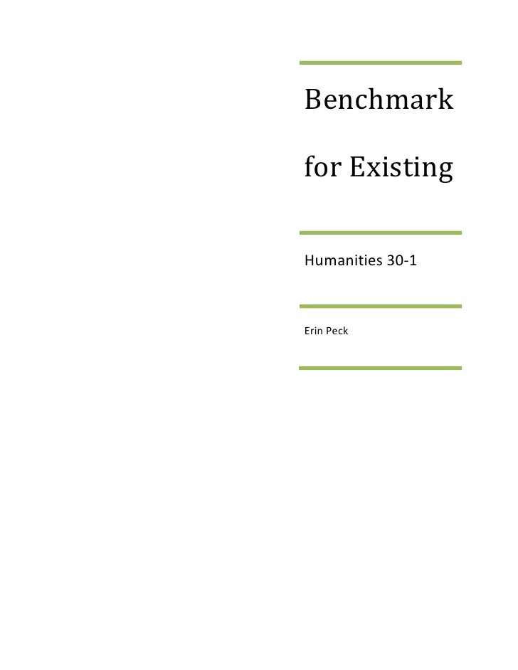 Benchmark for ExistingHumanities 30-1Erin Peck<br />Classical Liberalism began to take shape in the 18th century and creat...