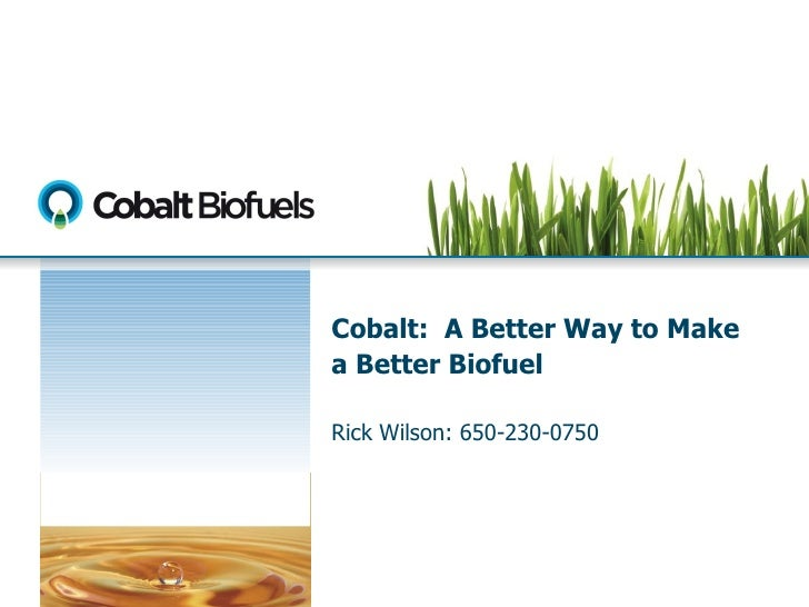 09 CeoMeeting- Session1- Cobalt