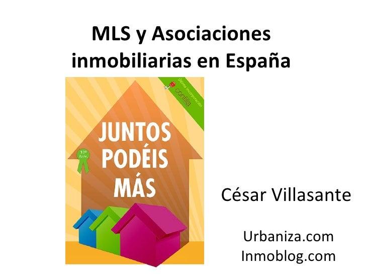 MLS y asociaciones inmobiliarias en españa
