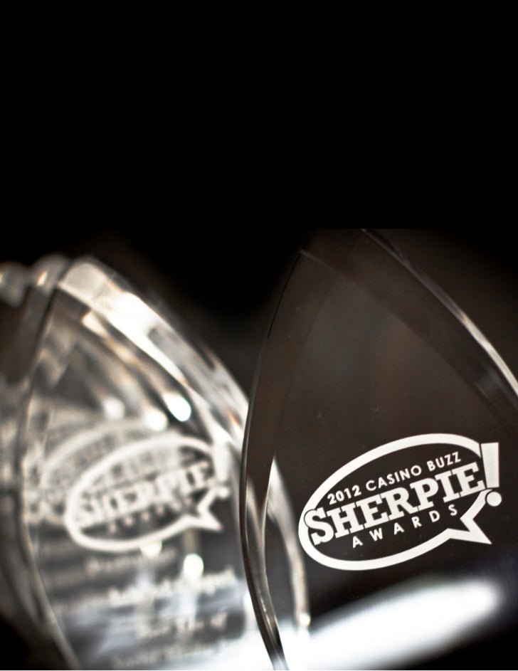 2012 Casino Buzz Sherpie Awards