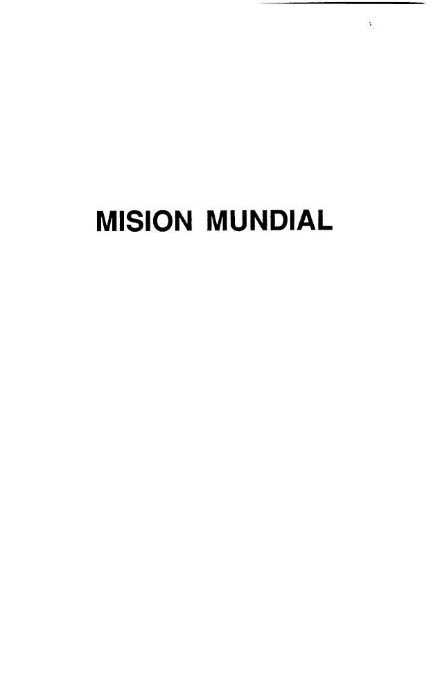 MISION MUNDIAL