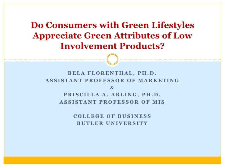 Bela Florenthal, Ph.D.<br />Assistant Professor of Marketing<br />&<br />Priscilla A. Arling, Ph.D.  <br />Assistant Profe...