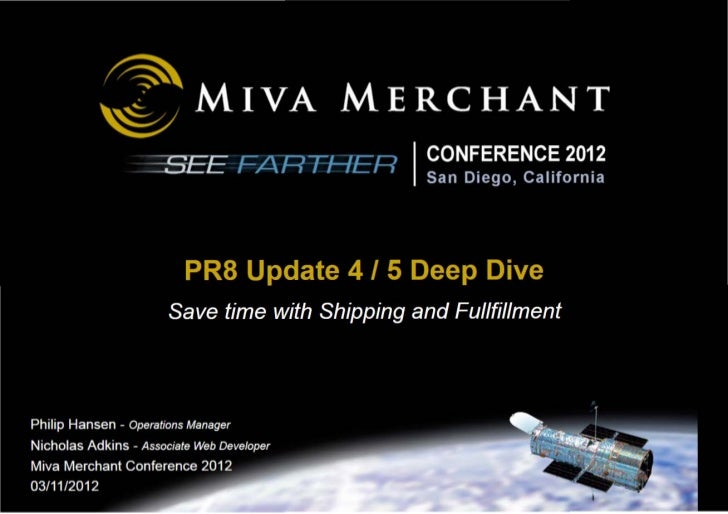 Miva Merchant PR8 Update 4/5: What's New And How To Use It!