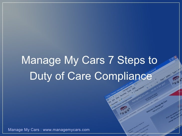 Mmcl Duty Of Care 3