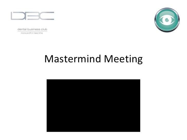 Mmg2DBC Mastermind 2 - 4th November 2010