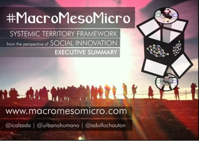 #MacroMesoMicro | Executive Summary The place matters. We were born there, have been living and working there, entered the...
