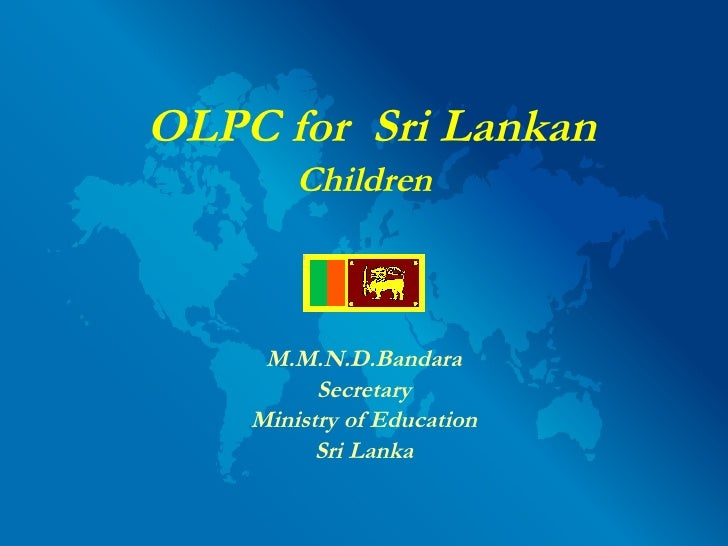Global Panel: Sri Lanka (MMND Bandara)
