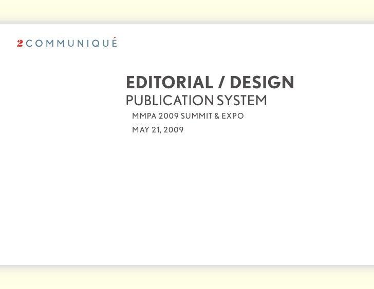 Magazine Design System