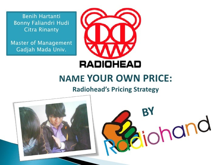 "Radiohead - ""Pricing"""