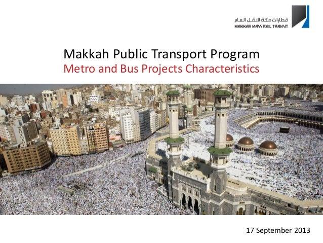 Makkah Metro Presentation