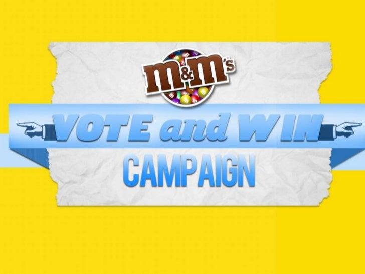 M&M's Vote & Win