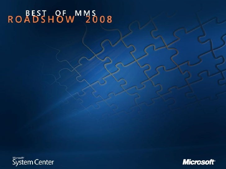 Mms201 Optimize Your Server Infrastructure