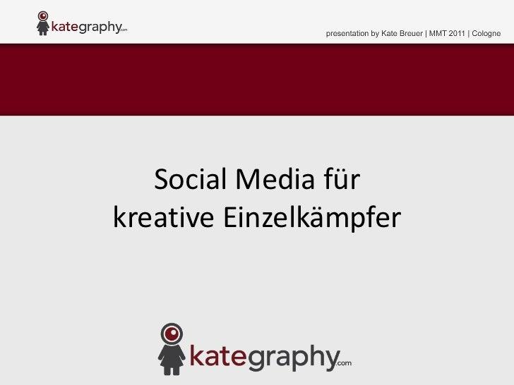 MMT 27: Social Media für kreative Einzelkämpfer