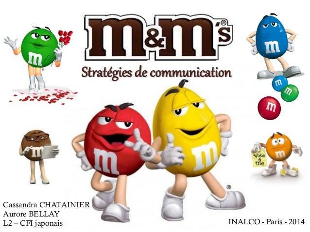 Cassandra CHATAINIER Aurore BELLAY L2 – CFI japonais Stratégies de communication INALCO - Paris - 2014