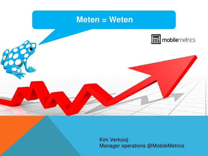 MobileMetrics Benchmark data by Kim Verkooij