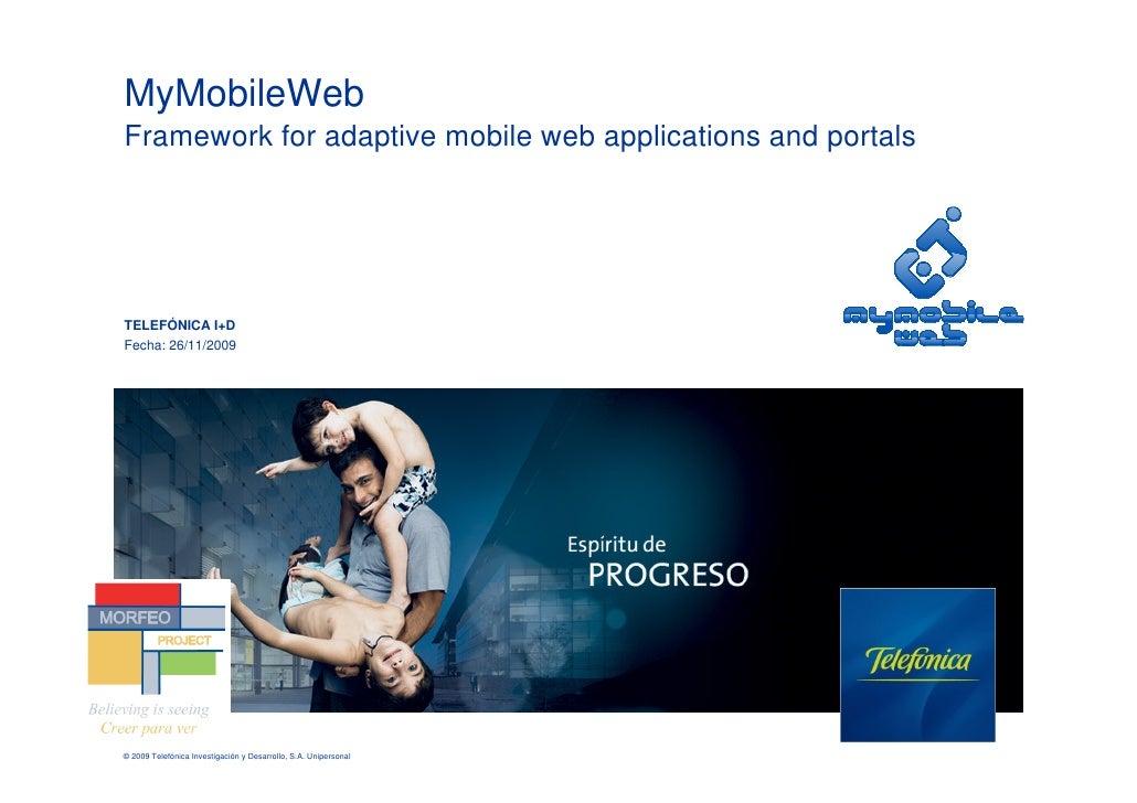 MyMobileWeb Version 4