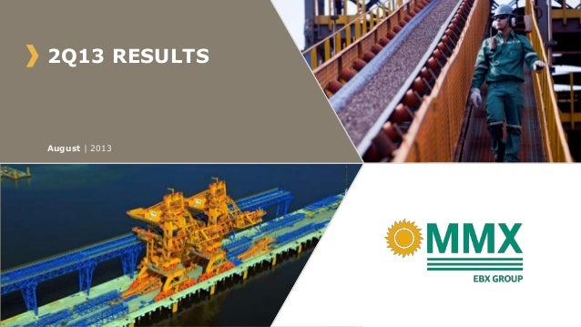 2Q13 RESULTS August   2013