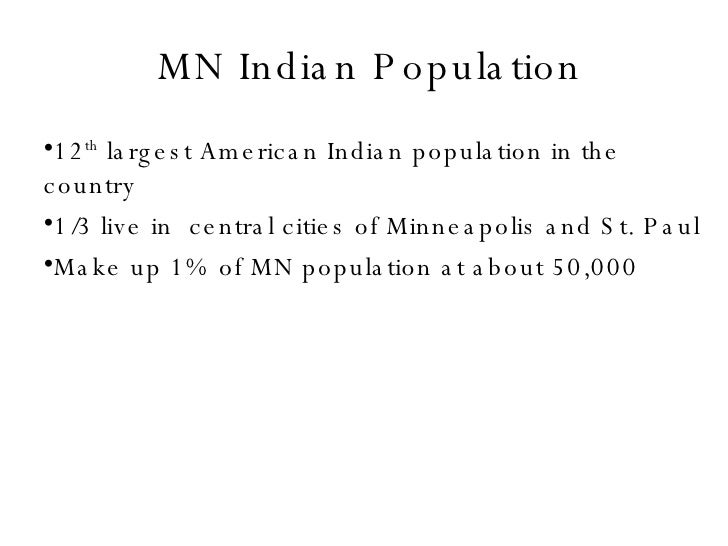Mn Indian Population For Web