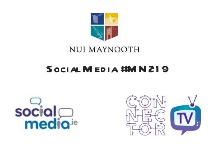 Social Media #MN219