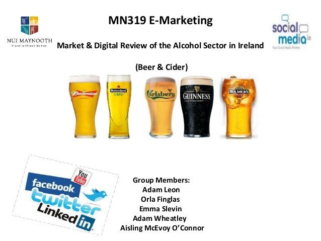 MN319 Digital Market Review on the Alcohol Sector (Beer and Cider)