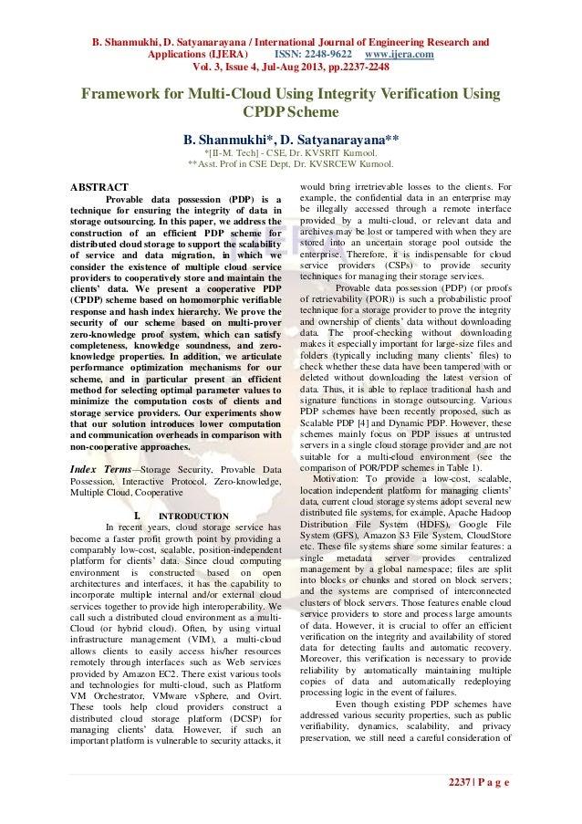 B. Shanmukhi, D. Satyanarayana / International Journal of Engineering Research and Applications (IJERA) ISSN: 2248-9622 ww...